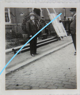 Photo LA LOUVIERE Ou Région La Hestre Elections 1936 Panneau Propagande électorale - Luoghi