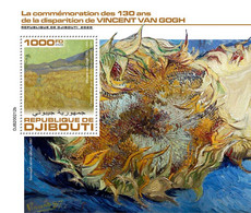 Djibouti 2020    Paintings Of  Vincent Van Gogh S202007 - Gibuti (1977-...)