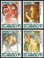 Djibouti 2020    Paintings Of Alphonse Mucha     S202007 - Gibuti (1977-...)