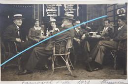 Photo NAMUR 1932 Terrasse Café Carnaval D'été - Luoghi