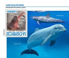 Djibouti 2020 Fauna  Dolphins    S202007 - Djibouti (1977-...)
