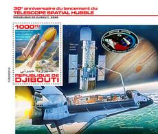 Djibouti 2020 Launch Of The Hubble Space Telescope  S202007 - Djibouti (1977-...)