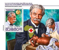 Djibouti 2020  Albert Schweitzer , Nobel Peace Prize    S202007 - Djibouti (1977-...)