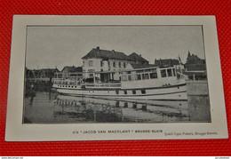 "BRUGGE - SLUIS  -  S/s "" Jacob Van Maerlant ""  - Stoomboot - Brugge"