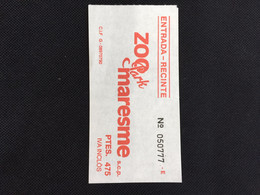 Ticket(maybe Not The Same Number) - Tickets - Vouchers