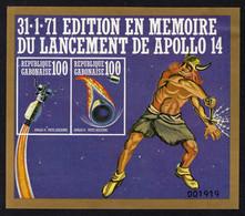 GABON Mi. BL18 MH* 1971 - Gabón (1960-...)