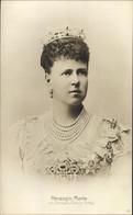 CPA Duchesse Marie Von Saxe Coburg Gotha, Marija Alexandrowna Romanowa, Portrait - Case Reali