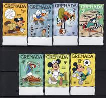 GRENADA Yt. 866/872 MNH** 1979 - Grenada (1974-...)