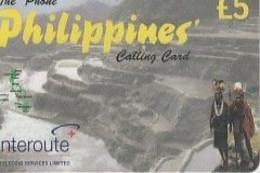 PHILIPPINES   Interroute  Prepaid - Filippine