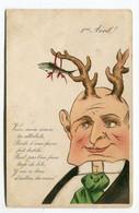 CPA  Illustrateur : Cornes De Cocus  Humour   VOIR  DESCRIPTIF   §§§ - 1900-1949