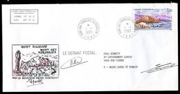 """Enveloppe """"""""MONT D' ALSACE - MONT DES KERGUELEN - KERGUELEN - 1.1.1995"""""""" - Covers & Documents"""
