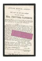 DD 239. ELISA PROUVOSQ - VANNESTE - °WERVICQ 1838 / +HEUSDEN 1917 - Devotieprenten