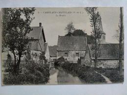 Carte Postale Ancienne, Camblain-Châtelain - Promenade -coin Du Bois - Andere Gemeenten