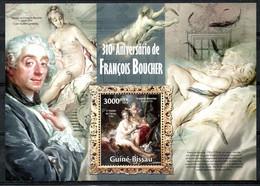 GUINEE BISSAU. BF 903 De 2013. Tableaux De François Boucher. - Desnudos