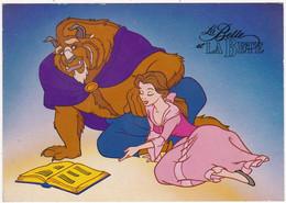 Disney : La Belle Et La Bête : C.p.m. - Grand Format ) édit. Chromovogue - Altri