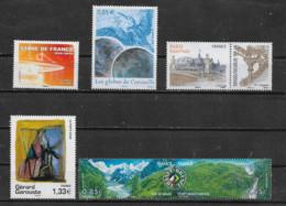 FRANCE - Yvert N° 4142-4144-4215-4244-4255-4256 ** - Neufs