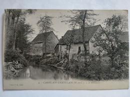 Carte Postale Ancienne, Camblain-Châtelain - L'abreuvoir - Andere Gemeenten