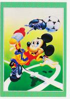 CPSM / CPM 10.5 X 15 Walt Disney  Mickey Football - Altri