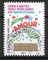 FRANCE 1341 Vœux 2016 Oblitération Ronde D'époque - Adhesive Stamps