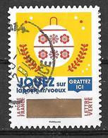 FRANCE 1647 Vœux 2018 Oblitération Ronde D'époque - Adhesive Stamps