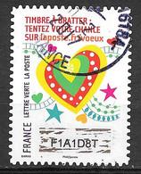 FRANCE 1338 Vœux 2016 Oblitération Ronde D'époque - Adhesive Stamps