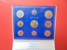 START 1 EURO ! VATICAN SERIE COMPLETE 2007 En COFFRET FDC - Vatican
