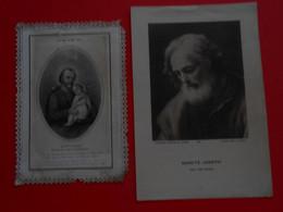 Image Religieuse - Saint Joseph, Canivet  Letaille - Sancte Joseph  Procure Générale  - - Devotion Images