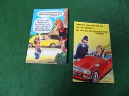 SEASIDE HUMOUR: X2 Cars Taylor Bamforth - Humor