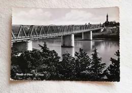 Cartolina Illustrata Musile Di Piave - Il Ponte, Viaggiata Per Torre Di Pordenone 1958 - Otras Ciudades