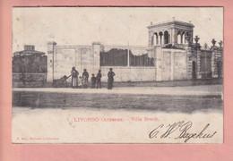 OLD  POSTCARD -  ITALY - LIVORNO - ARDENZA - VILLA BONDI - Livorno