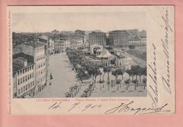 OLD  POSTCARD -  ITALY - LIVORNO -  SCOMPARSA - Livorno