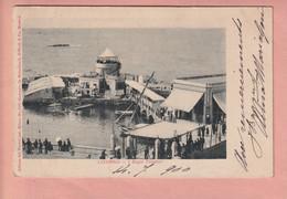 OLD  POSTCARD -  ITALY - LIVORNO -   BAGNI PALMIERI - Livorno