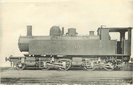 Thème Train Machine 325 Lozère Et Vivarais Voie 1 M  Locomotives Chemins Fer Départementaux  CP Ed. H.M.P. N°602 - Treni