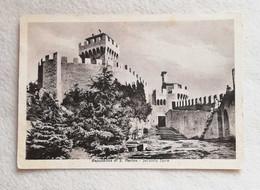 Cartolina Illustrata Repubblica Di San Marino - Seconda Torre, Viaggiata Per Bologna 1951 - San Marino