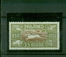Island, Sagen Nr. 144 Falz * - Unused Stamps