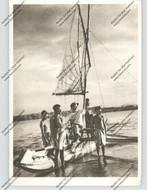 PAPUA - NEW GUINEA, KAIRIRU, Auslegerboot Mit Steyler Missionar - Papua Nuova Guinea