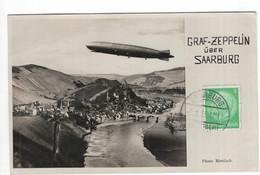 Saarburg - Graf Zeppelin - 1933 - Sin Clasificación
