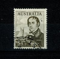 Ref 1400 - 1966 Australia  - $4  Admiral King - Fine Used Stamp - SG  403 - Cat £6.50 + - 1966-79 Elizabeth II