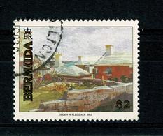 Ref 1400 - 1991 Bermuda   - $2  St Georges - Fine Used Stamp - SG  633 - Cat £8.50 + - Bermudas