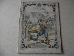Protège Cahier, Fin XIX,  FABLE De La Fontaine, LE CHARRETIER EMBOURBE - Protège-cahiers