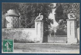 HUISMES - Château De La Ville Au Maire - La Grille Du Parc - Sonstige Gemeinden
