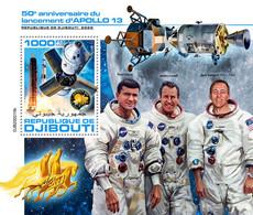 Djibouti 2020  Launch Of Apollo 13 ,space  S202007 - Djibouti (1977-...)