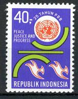 INDONESIE: ZB 687 MNH** 1970 25ste Verjaardag Verenigde Naties - Indonésie