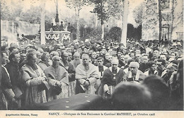 (1)    54   Nancy    Obséques Du Cardinal Mathieu   30 Octobre 1908   (2) - Nancy