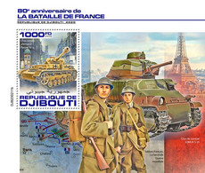 Djibouti 2020     Battle Of France  ,  World War II  S202007 - Djibouti (1977-...)