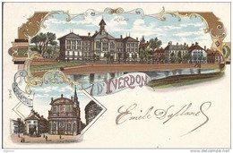 L 346-  Souvenir D' Yverdon   Litho - VD Vaud