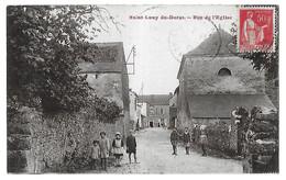 SAINT-LOUP DU DORAT      Rue De L'Eglise    (recto-verso) - Frankreich