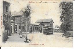 "MAUBEUGE "" La Gare , Belle Animation ""   N°794 - Maubeuge"