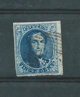N° 7A OBLITERE P 103 ST GHISLAIN.BDF - 1851-1857 Médaillons (6/8)