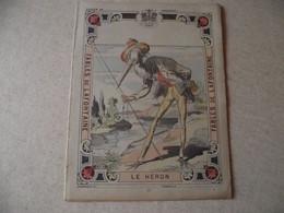 Protège Cahier, Fin XIX,  FABLE De La Fontaine, LE HERON - Protège-cahiers